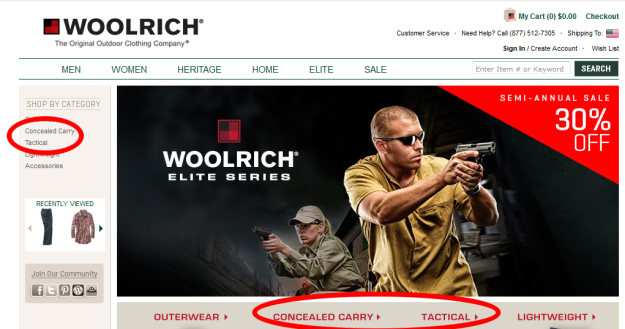 Woolrich concealed carry