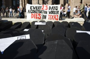 Every 2.5 Days A Construction Worker Dies in Texas