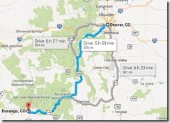 Denver to Durango