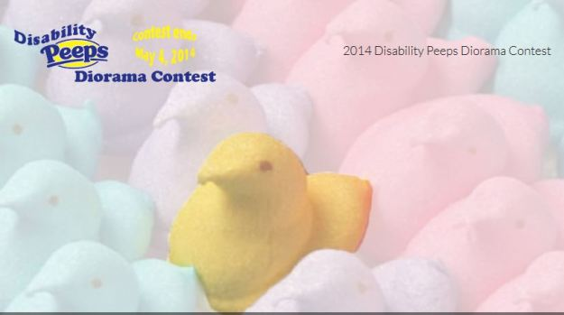 Disability peeps contest