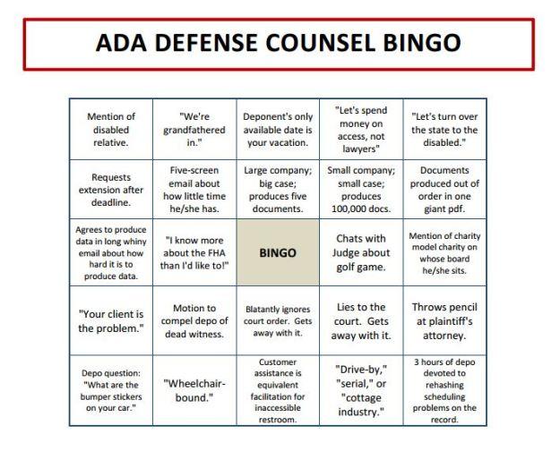 MS Word Version at https://thoughtsnax.files.wordpress.com/2015/06/opposing-counsel-bingo.docx